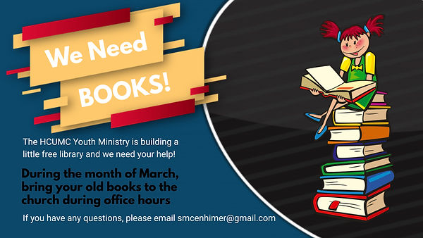 Book Drive Flyer - Made with PosterMyWal
