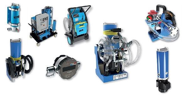 filtros e condicionamento de oleo - Argo