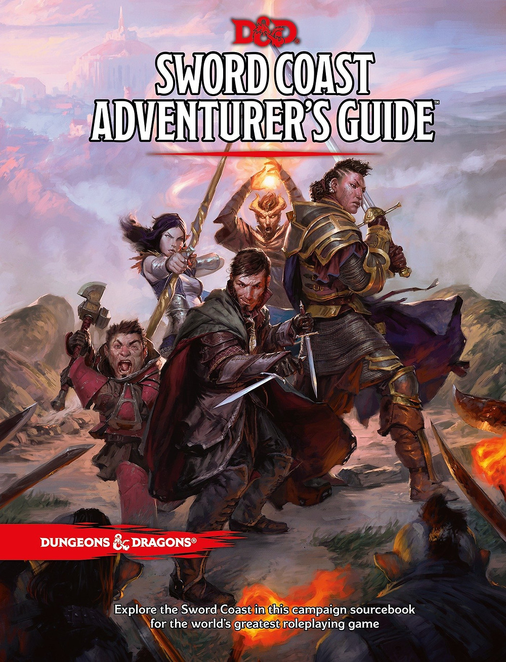An image of the Sword Coast Adventurer's Guide sourcebook.