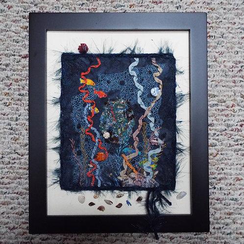 Island Fantasy Art Quilt