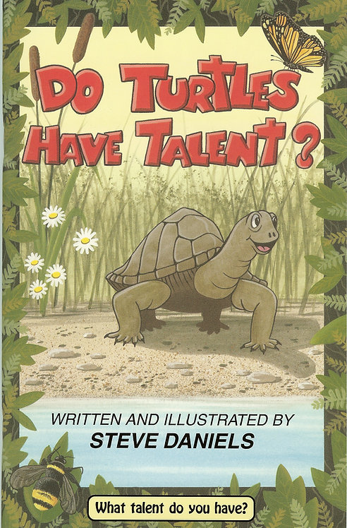Do Turtles Have Talent Childrens Book