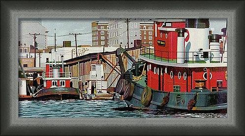 Port Of Wilmington Art Print