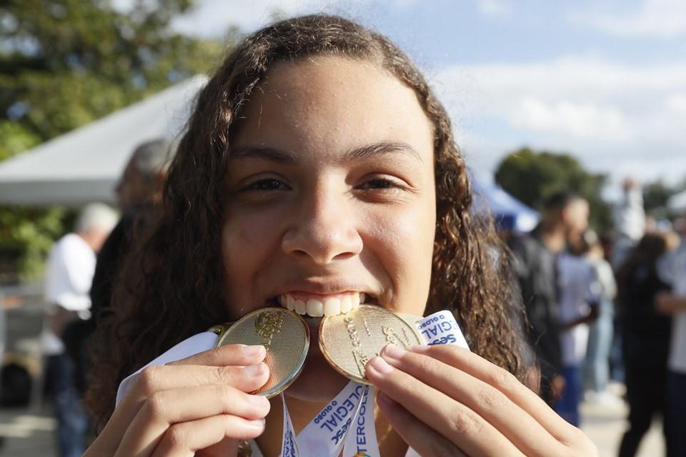 Intercolegial - Medalhas Natação