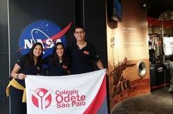 Bandeira OD - Stand NASA 2