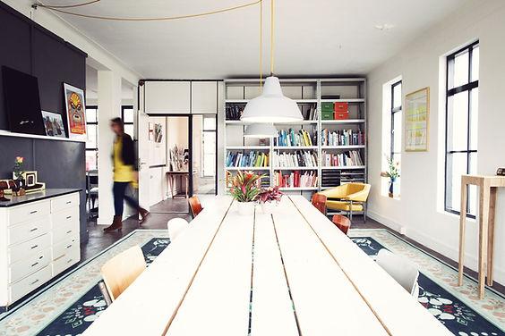 De spreekkamer van Blik architectuur en interieur