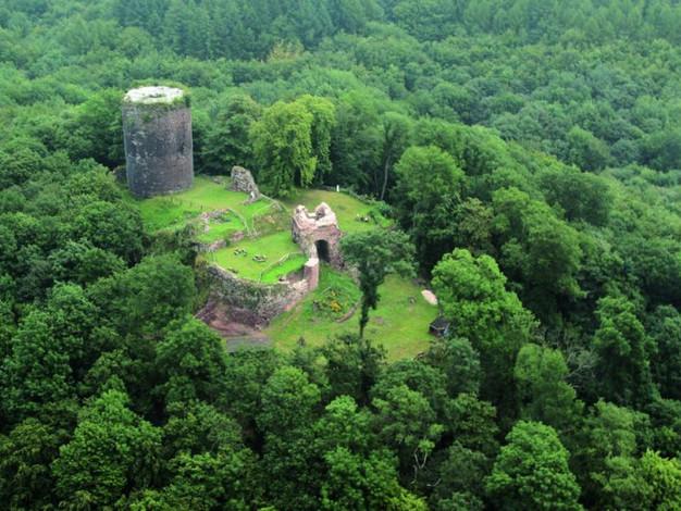 Ruine der Ebersburg