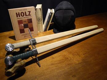 Trainingswaffen Teil 2:  Trainingswaffen aus Holz