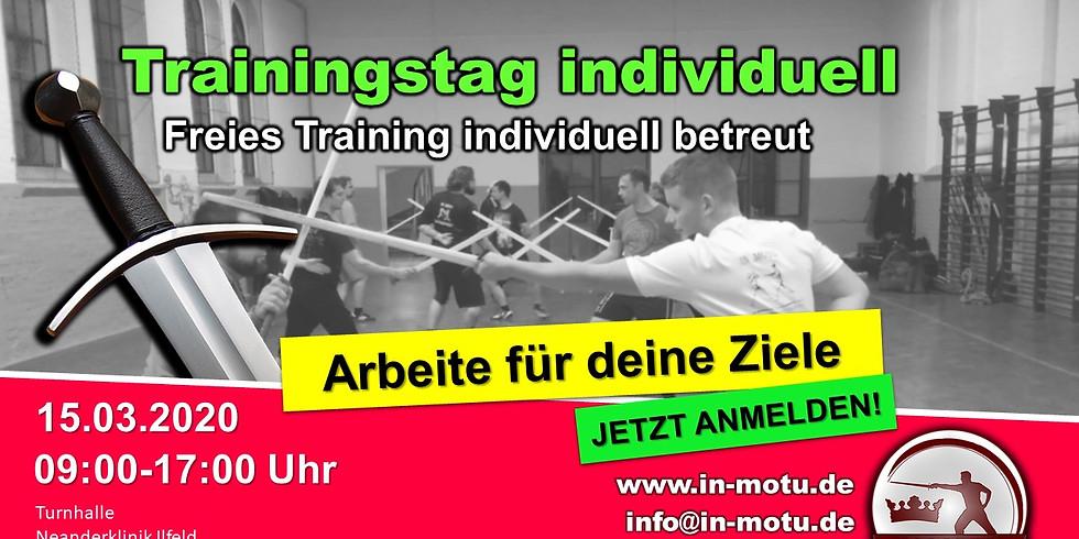 Freies Training betreut und individuel