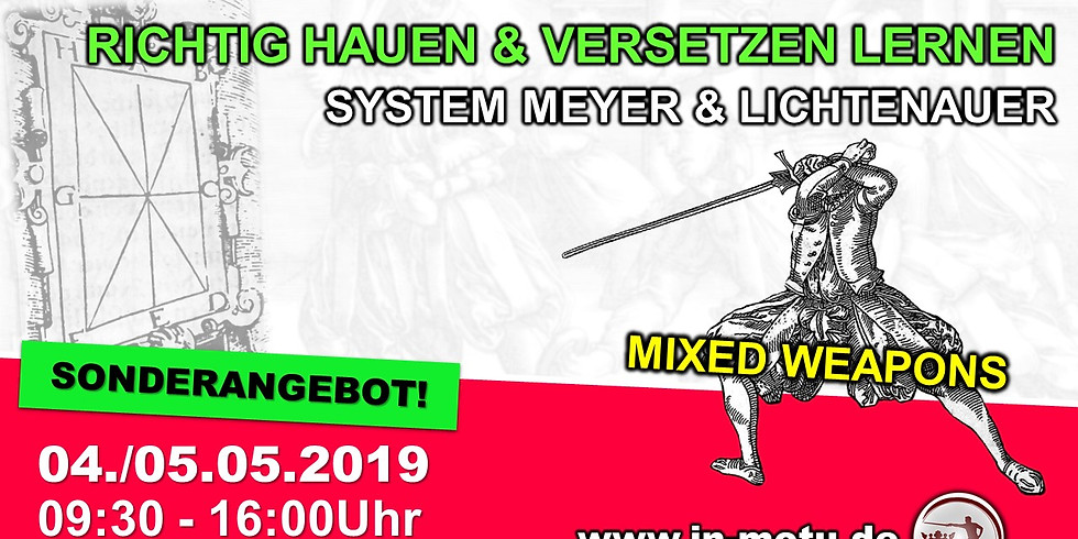 Richtig Hauen und Versetzen nach Joachim Meyer & Lichtenauer