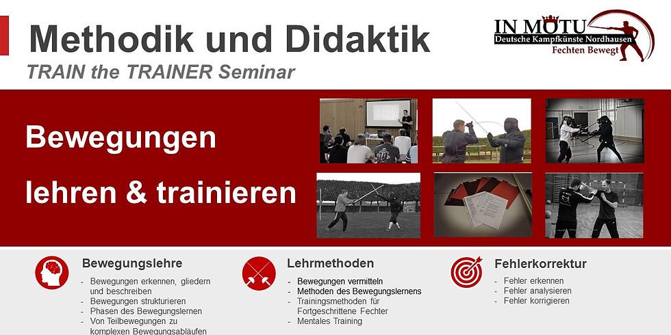 Bewegungen lehren und trainieren - Train the Trainer Seminar