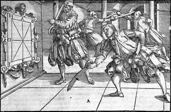 Joachim Meyers Fechtkunst - von Schimpf, Schule und Ernst