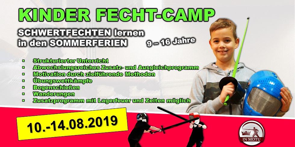 (VORBEI) FechtCamp 2019 für Kinder und Jugendliche