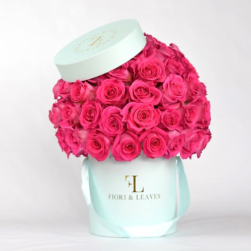 Full Dome - Hot Pink Roses