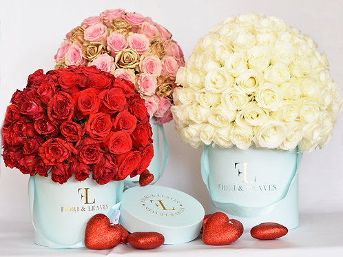 Premium - Full Dome Roses - All Shades