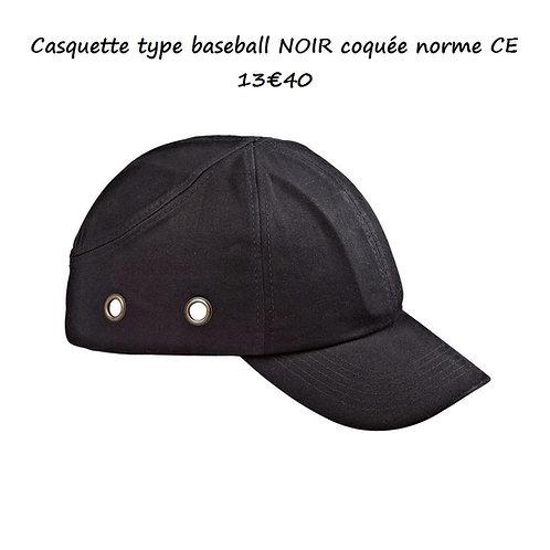 Casquette type baseball coquée CE