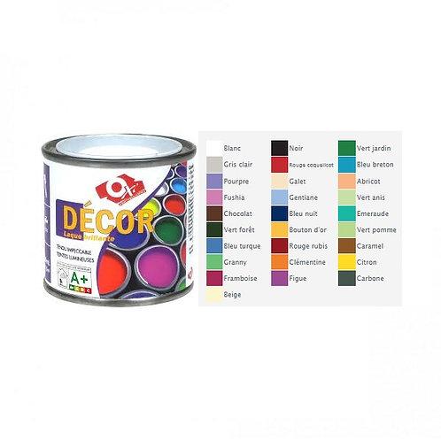 Laque décor eau norme jouet - Carbone - 60ml