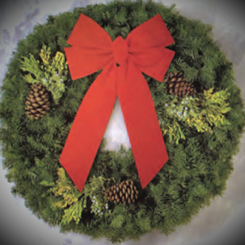 "24"" Traditional Deluxe Wreath"