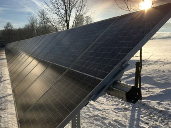 Tracker Photovoltaik