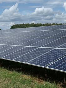 Freiland Photovoltaik