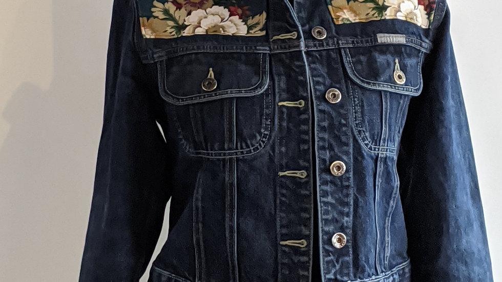 Recycled denim jacket size 12