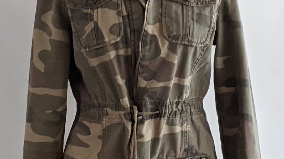 Camo jacket size 12 SOLD