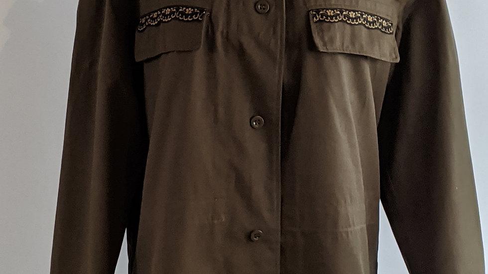 Camo jacket size 16