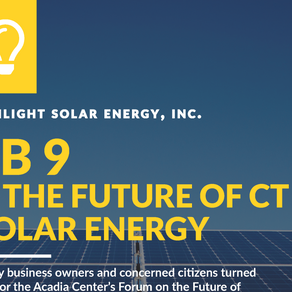 SB9 and the Future of CT Solar Energy