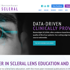 BostonSight SCLERAL Website Copy