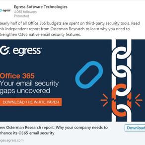 Egress Social Media Copy