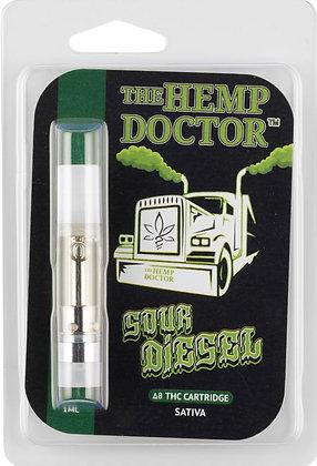 Delta 8 THC Hemp Derived Sour Diesel Cartridge (Sativa)