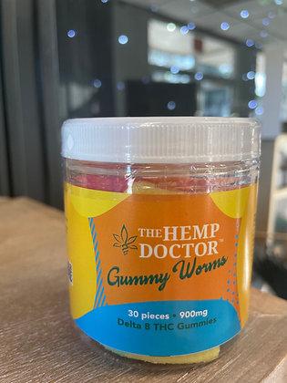 THD D8 Gummy Worms