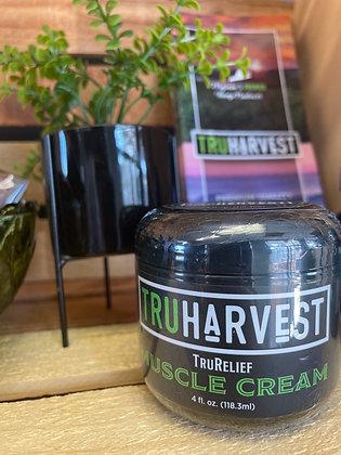 TruHarvest TruRelief Muscle Cream 4oz.