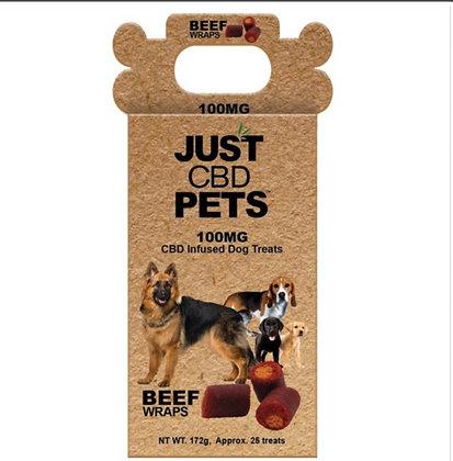 Just CBD Pet Dog Treat Beef