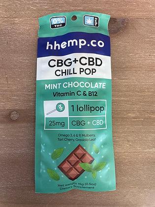 Hhemp.co THC Free Lollipop CHILL