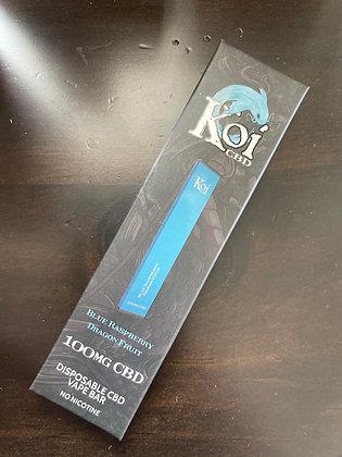 Koi Blue Razz Dragon Fruit CBD Disposable Pen THC Free