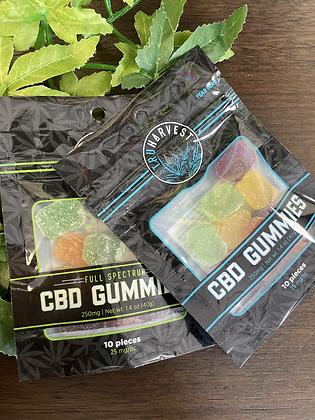 TruHarvest CBD Gummies 10ct.