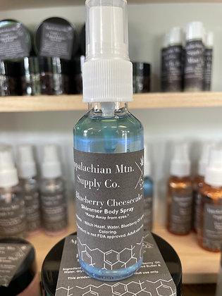 Shimmer Body Sprays