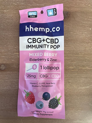 Hhemp.co THC Free Lollipop IMMUNITY