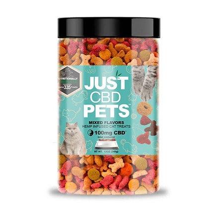 Just CBD Pet Cat Treats Mix