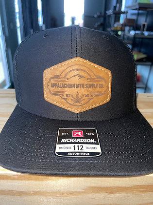 Trucker Hat Leather Logo