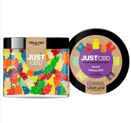 Just CBD Gummy Bears 750MG