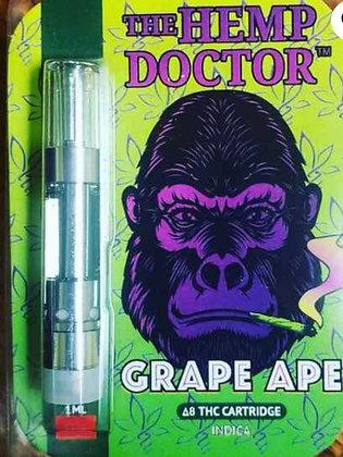 Delta 8 THC Hemp Derived Grape Ape Cartridge (Indica)