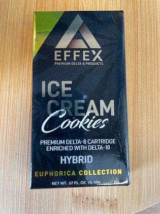 Effex Delta 8 Ice Cream Cookies Cartridge