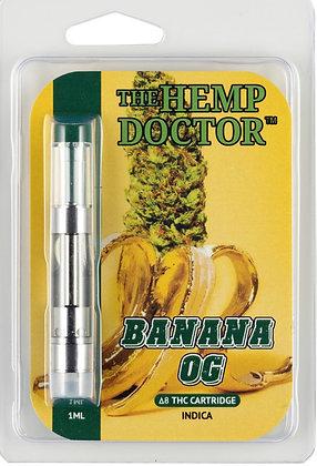 Delta 8 THC Hemp Derived Banana OG Cartridge (Indica)