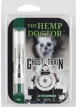 Delta 8 THC Hemp Derived Ghost Train Cartridge (Sativa)