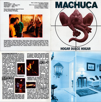 Machuca - carátula Hogar Dulce Hogar