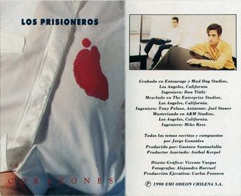 Los Prisioneros - Carátula Corazones