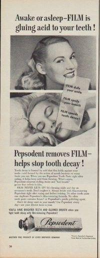 pepsodent advertisement