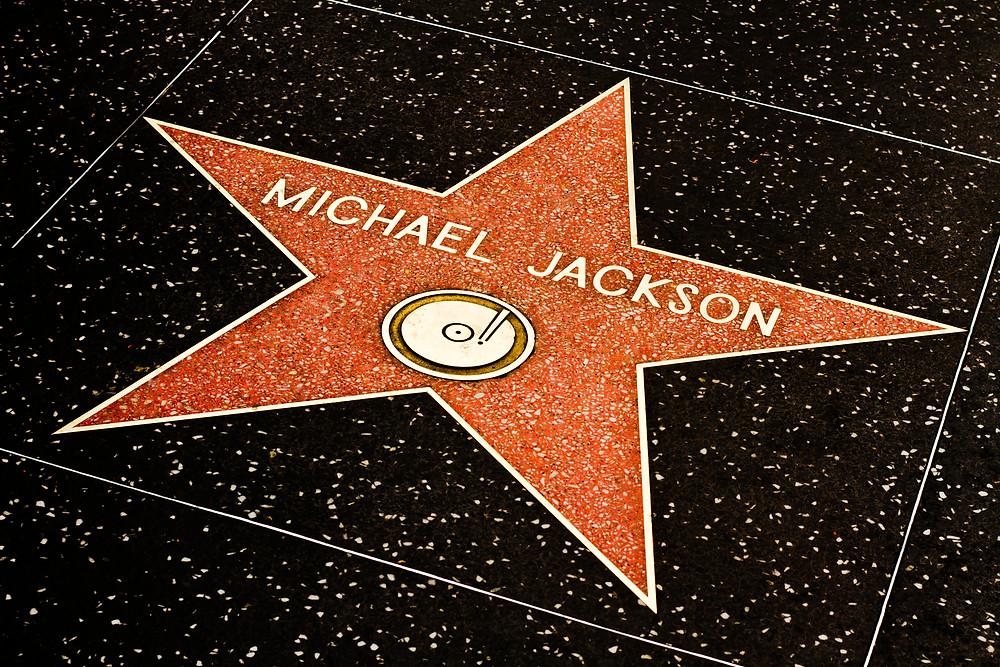 Michael Jackson - Walk of fame