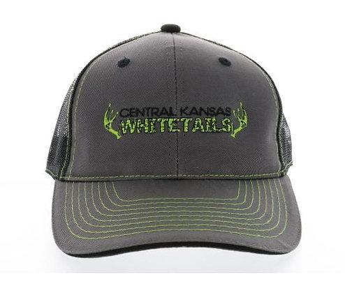 Green Stiching Cap